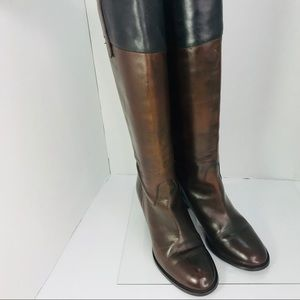 J Crew  leather boots size 7